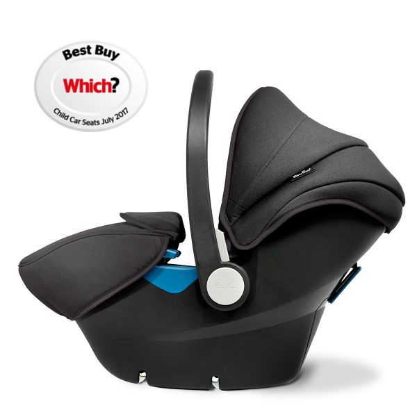 Silver Cross Black Simplicity Car Seat