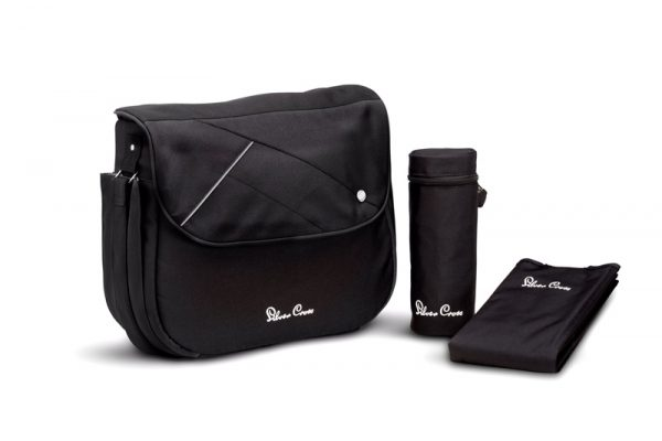 silver cross CHANGING_BAG_black
