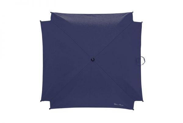 silver cross Parasol Vintage Blue