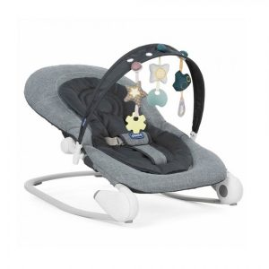 chicco hoopla bouncer dark grey
