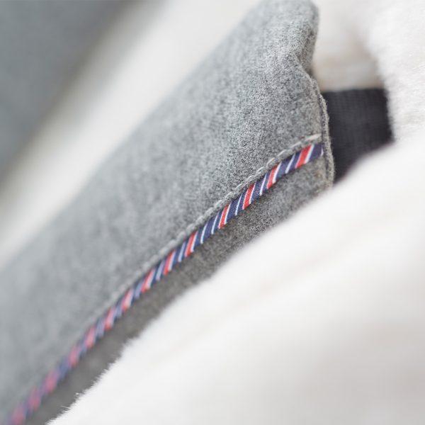 silver cross surf eton grey close up