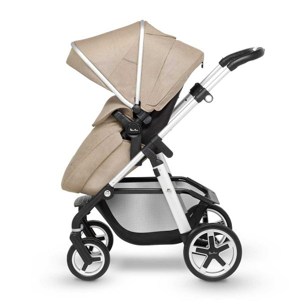 Silver Cross Pioneer Pushchair Side