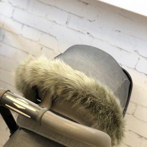 Silver Cross fur hood