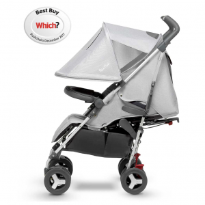 Silver Cross Reflex Pushchair 2018 Platinum Side