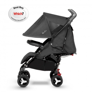 Silver Cross Reflex Pushchair 2018 Onyx Side