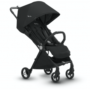 Ebony Jet Silver Cross Pushchair