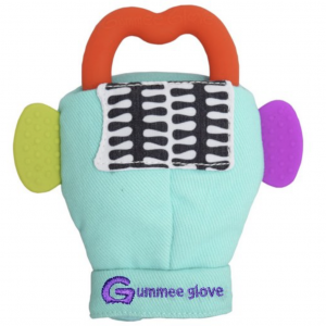Gummee-Glove Aqua Teething Mitten