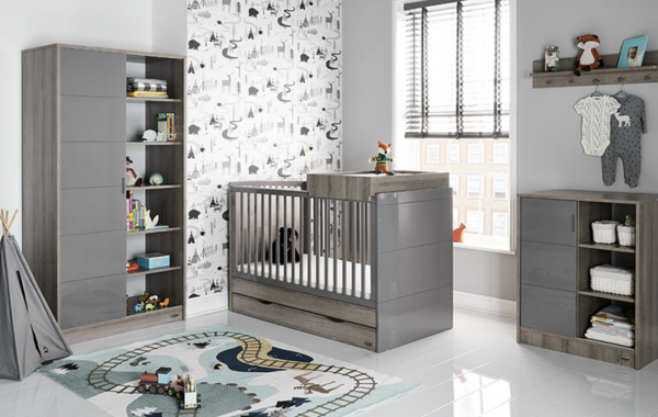 Baby Madrid 3 piece room set eclipse