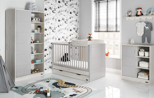 Obaby Madrid 3 Piece Room Set - Luna 1