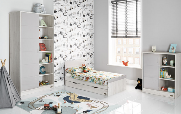 Obaby Madrid 3 Piece Room Set - Luna 2