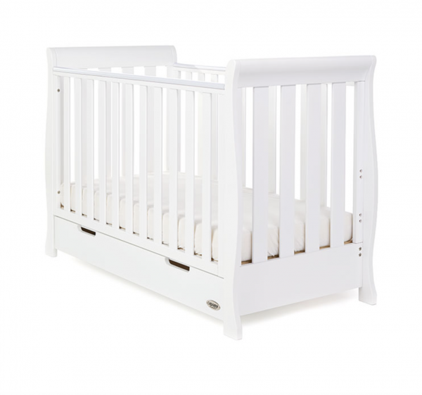 Obaby Stamford Mini 3 Piece Room Set - White 1
