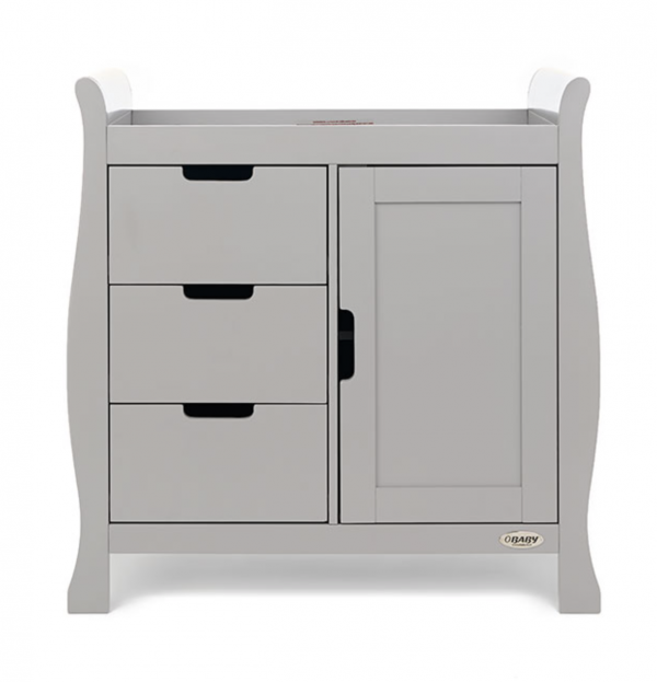 Obaby Stamford Classic Three Piece Room Set Warm Grey