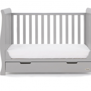 Obaby Stamford Mini Cot Bed - Warm Grey 5