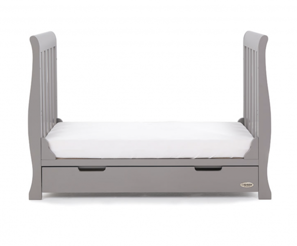 Obaby Stamford Mini Cot Bed Taupe Grey 4