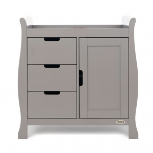 Obaby Stamford Mini 3 Piece Room Set - Taupe Grey 9