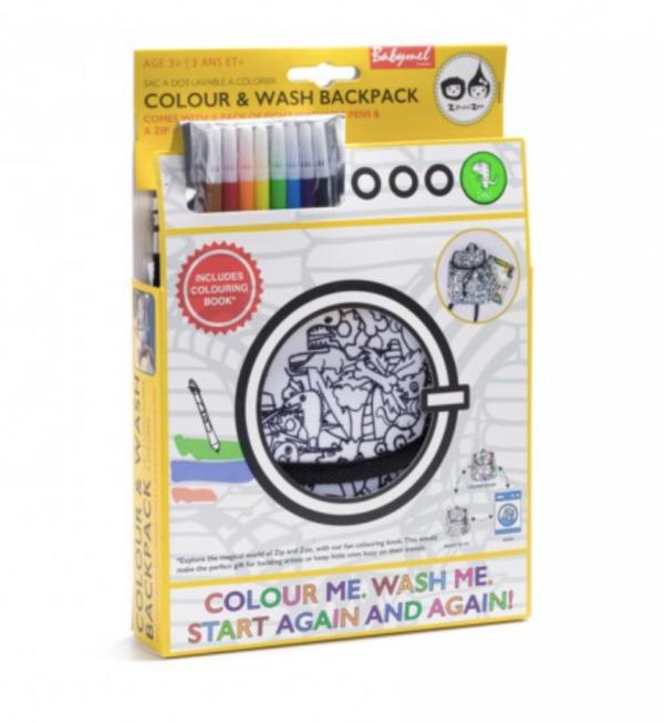 Babymel Colour & Wash Backpack Unicorn 1
