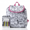 Baby Mel Colour And Wash Backpack Unicorn