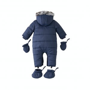 Silver Cross Quilted Pram Suit - Navy 4