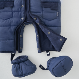 Silver Cross Quilted Pram Suit - Navy 6