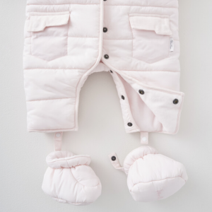 Silver Cross Quilted Pram Suit - Pink 5