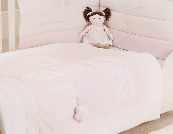 Vintage_Pink_Cot_Bed_Bumper