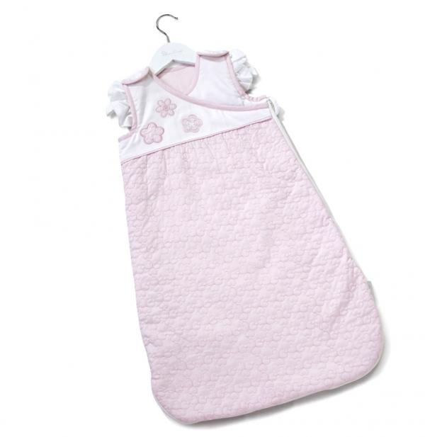 Silver Cross Sleepsuit - Vintage Pink 1