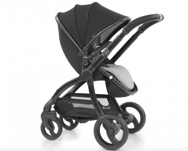 egg stroller just black