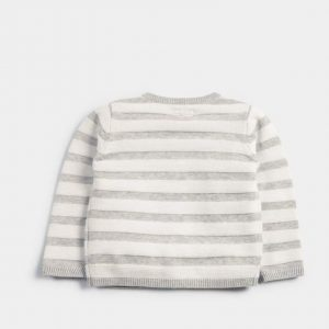 Mamas & Papas Striped Knitted Cardigan 5