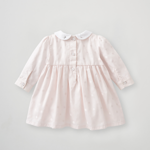 Silver Cross Embroidered Smock Dress 6