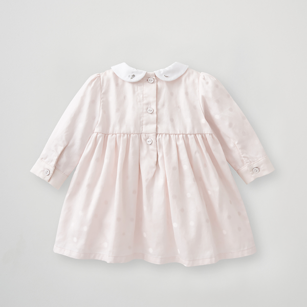 Silver Cross Embroidered Smock Dress 3