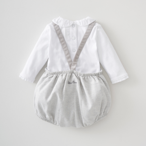 Silver Cross Bloomer & Dungaree Set 10