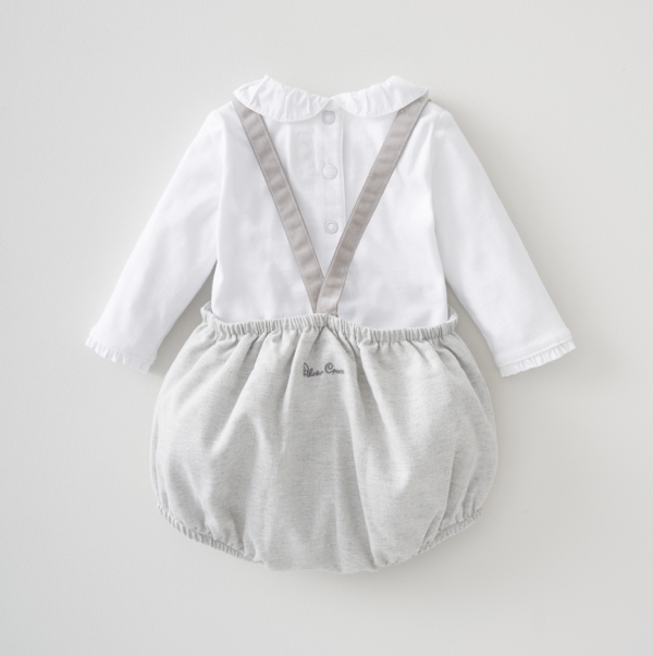 Silver Cross Bloomer & Dungaree Set 3