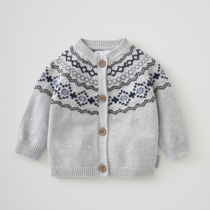 Silver Cross Fairisle Cardigan 6
