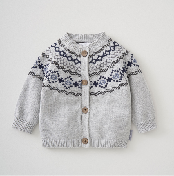 Silver Cross Fairisle Cardigan 1