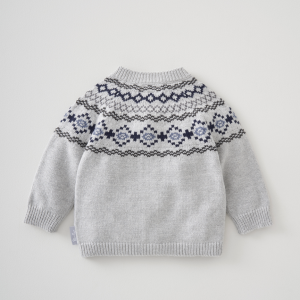 Silver Cross Fairisle Cardigan 8