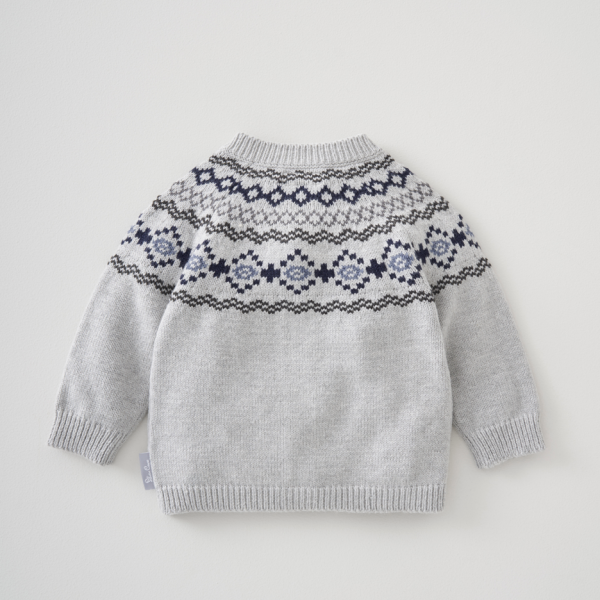 Silver Cross Fairisle Cardigan 3