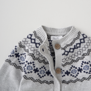 Silver Cross Fairisle Cardigan 9