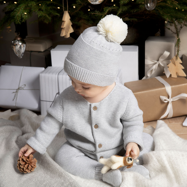 Silver Cross Knitted Hat & Bootee Set 2