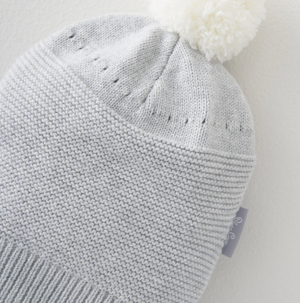 Silver Cross Knitted Hat & Bootee Set 3