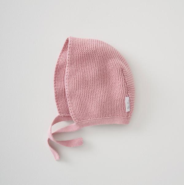 Silver Cross Knitted Bonnet 1