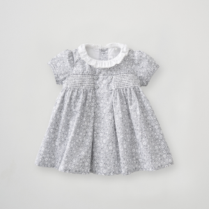 Silver Cross Floral Smock Dress 6