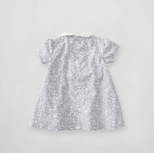 Silver Cross Floral Smock Dress 3