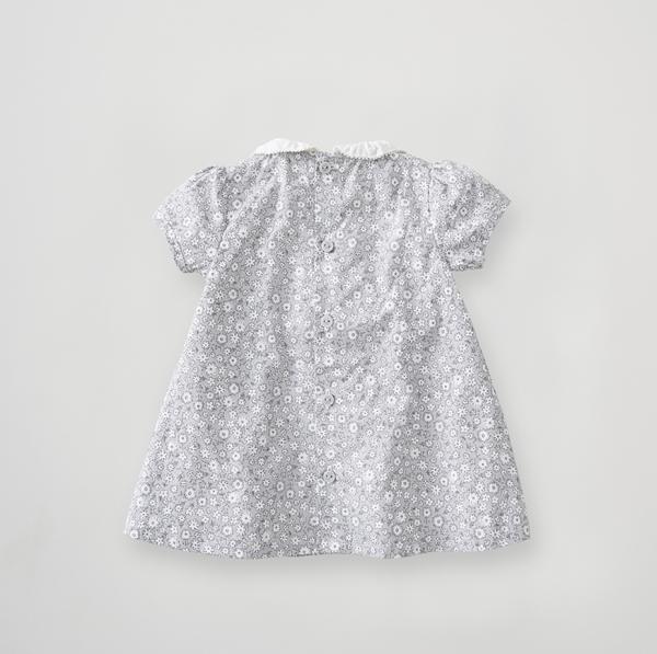 Silver Cross Floral Smock Dress 3