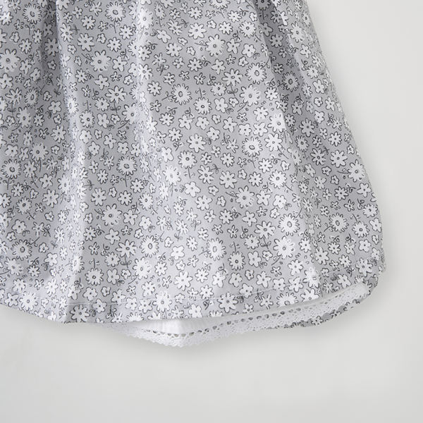 Silver Cross Floral Smock Dress 5