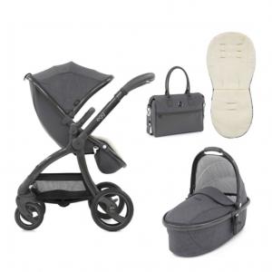 Egg Stroller & Carrycot Bundle - Quantum Grey 7