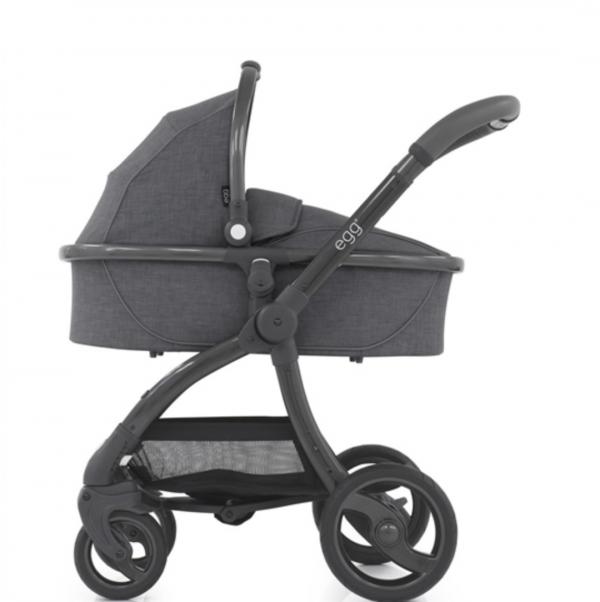 Egg Stroller & Carrycot Bundle - Quantum Grey 2