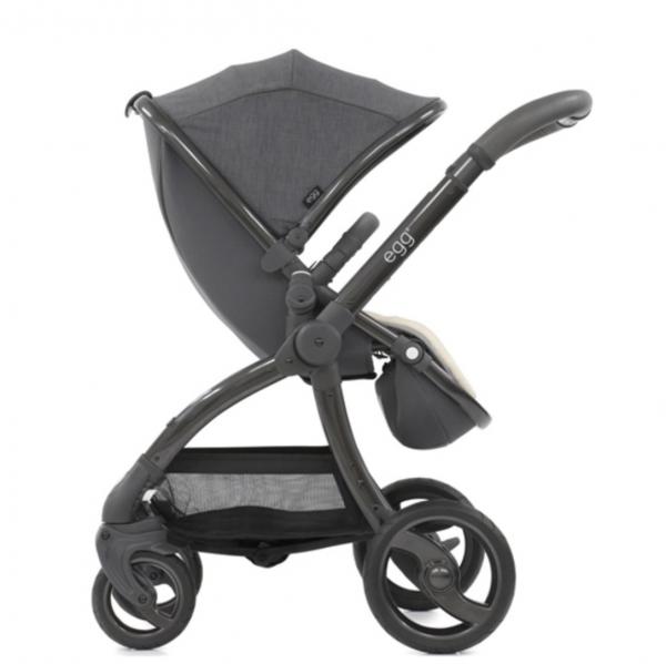 Egg Stroller & Carrycot Bundle - Quantum Grey 4