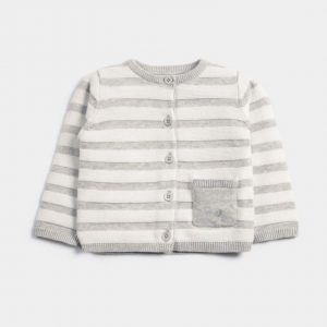 Mamas & Papas Striped Knitted Cardigan 4
