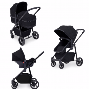 Ickle Bubba moon travel system black