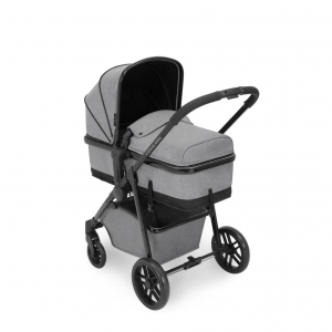 Ickle Bubba Moon 3 in 1 Travel System - Space Grey 11